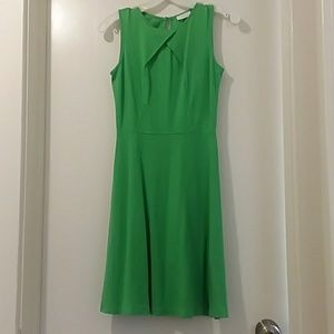 New York & Company size extra small green dress